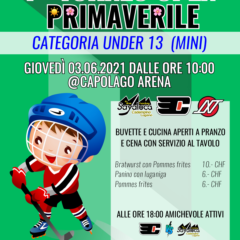 1° Torneo Primaverile Mini – 3.06.2021