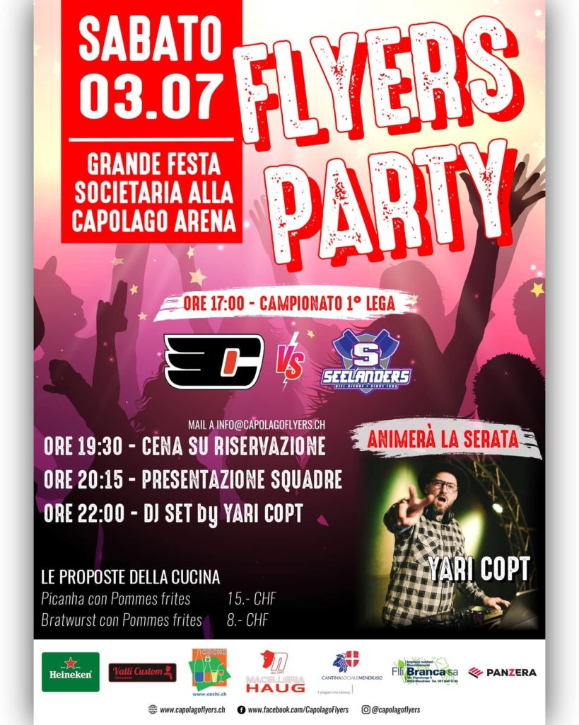 03.07 – FLYERS PARTY!